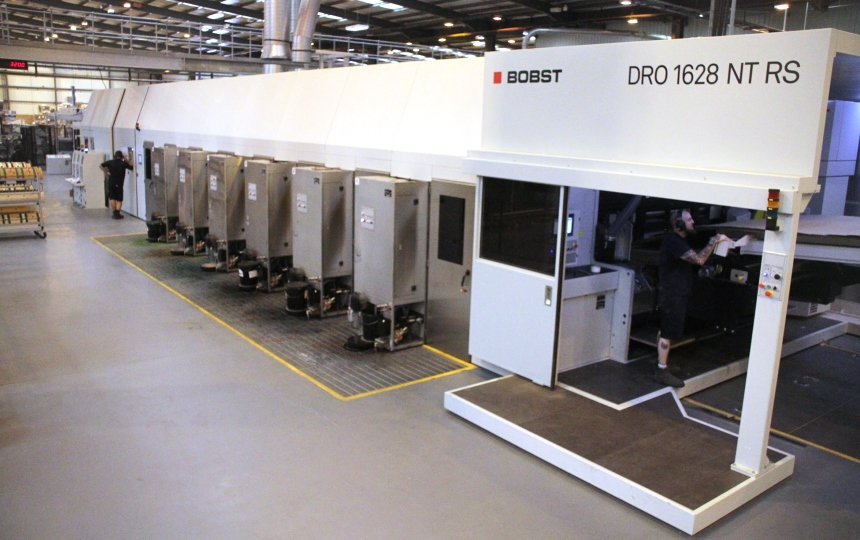 New Bobst Flexo Rotary Die Cutter In Wellington UK